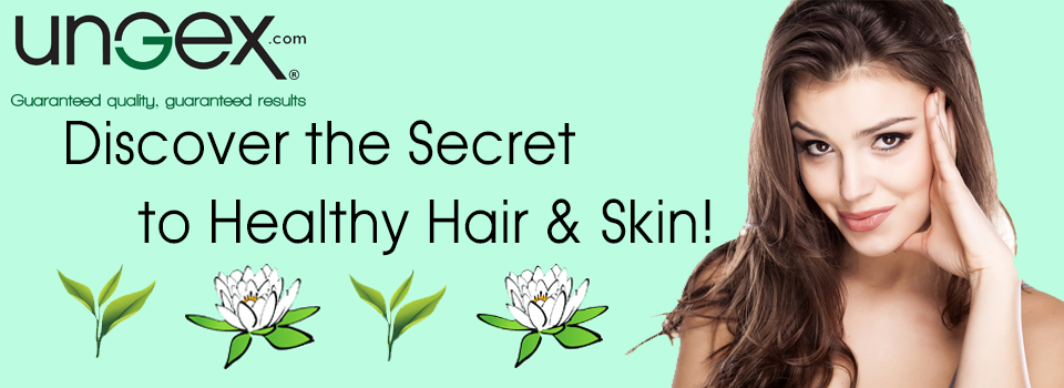 For skin and hair