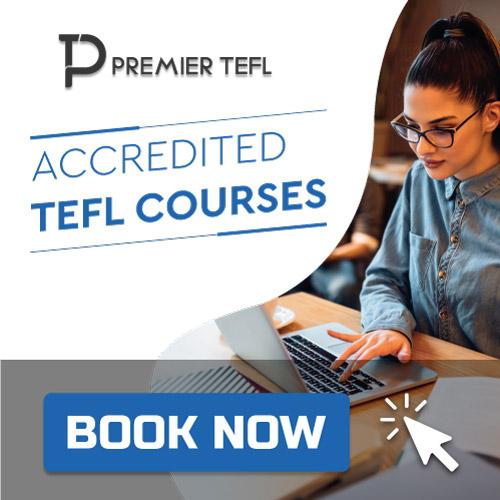 Premier Tefl TEFL Course Banner 8