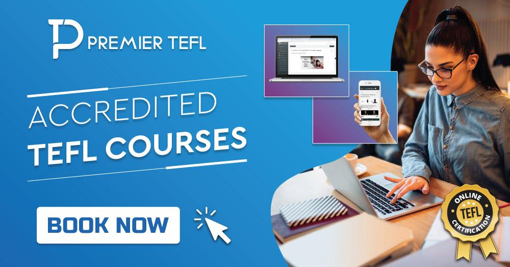 Premier Tefl TEFL Course Banner