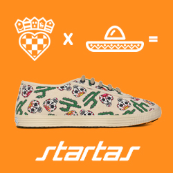 Startas Viva Mexico Low Top Sneakers