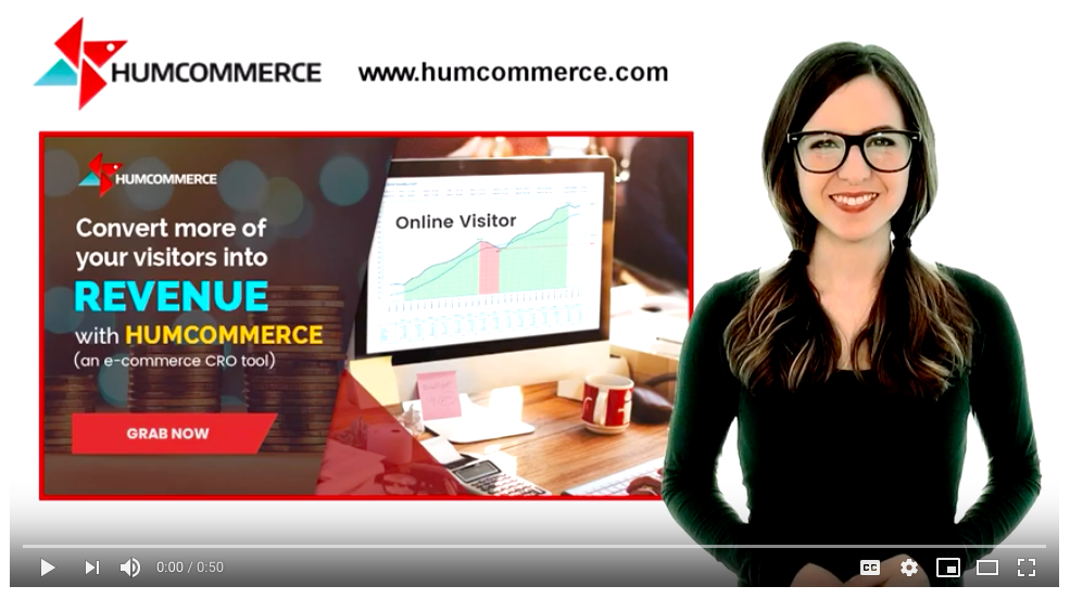 Up Your CRO?? Game with HumCommerce - Video