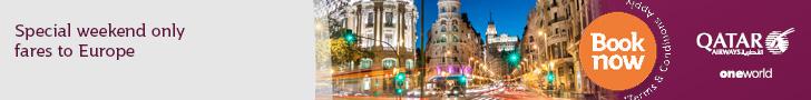 Qatar airways, holidays, travel, offers, deals