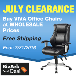 July Clearance! Buy Viva Office chairs at wholesale prices! Lowest ever! Enjoy free US shipping. Ends 7/31/2016.