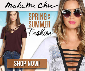 Shop MakeMeChic for the hottest Spring and Summer Fashions