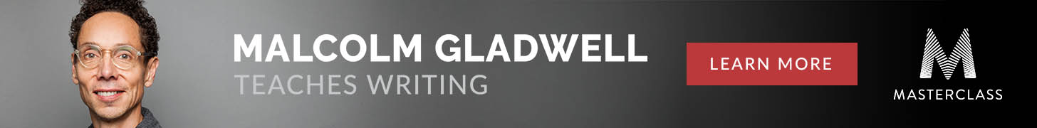 Malcom Gladwell Teaches Writing Masterclass