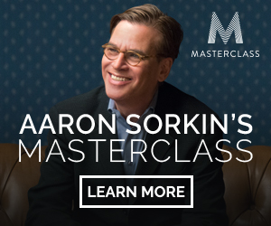Aaron Sorkin Teaches Screenwriting at Master Class