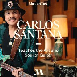 Carlos Santana Teaches The Art and Soul of Guitar @ MasterClass