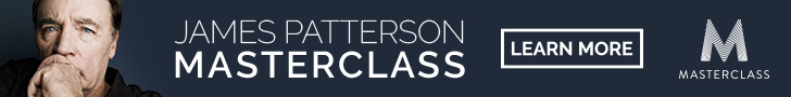JAMES PATTERSON MASTERCLASS. LEARN MORE.
