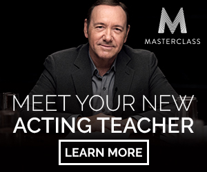 MEET YOUR NEW ACTING TEACHER, KEVIN SPACEY. LEARN MORE.