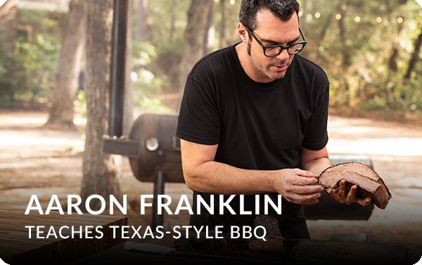 Aaron Franklin Teaches Texas-Style BBQ - MasterClass - Affiliate Advertising