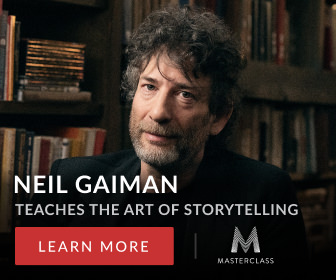Neil Gaiman Teaches The Art of Storytelling