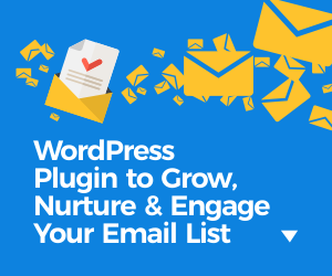 wordpress plugin to grow your email list