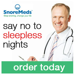 SnoreMeds - say no to sleepless night's - order today