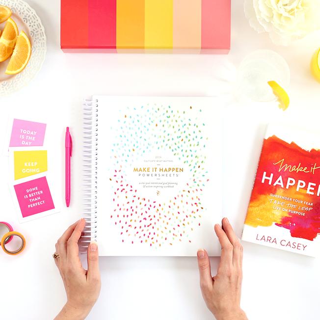 PowerSheets Ultimate Intentional Goal Planning Workbook Lara Casey Shop