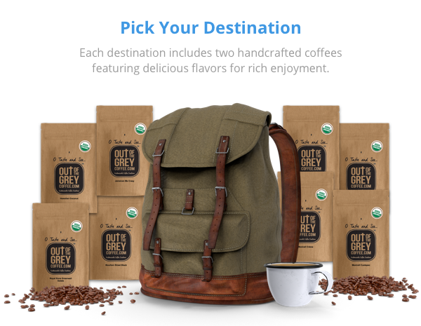 Blended Destinations Coffee Pairings