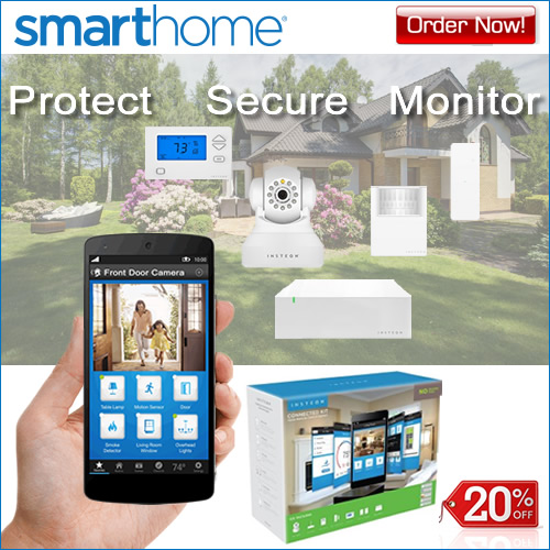 SmartHome Security Kits 20% OFF