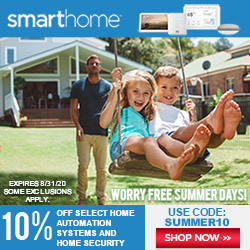 10% OFF Coupon (Select Items) SUMMER10 Smarthome