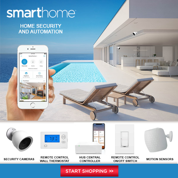 Summer Home Security at Smarthome