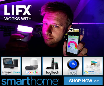 Smathome LIFX 'works with' - shop now!