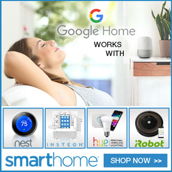 Smarthome Google Home 'works with'