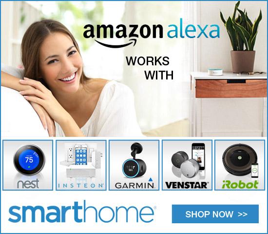Smarthome Amazon Alexa 'works with'