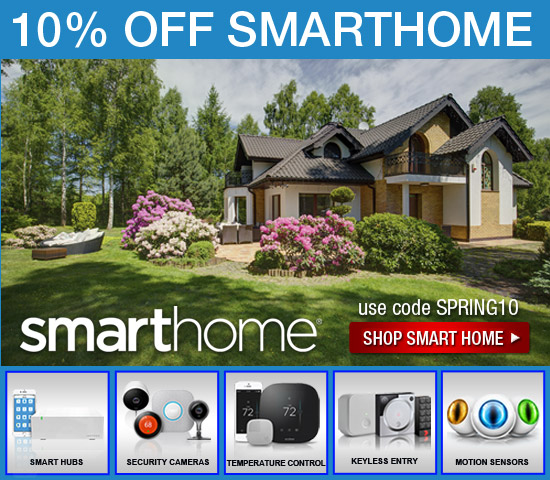 SMARTHOME COUPON 10% OFF