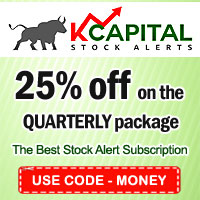 kcapitalstockalerts.com - 25% Off on the Quarterly Package