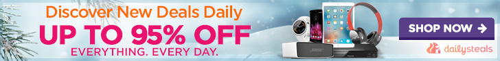 Banner: Up to 95% off