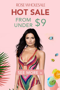 Rosewholesale Sexy Swimwear Sale: Starting From $9, Talk it Home!