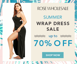 Summer Wrap Dress Sale: Up to 70% OFF!