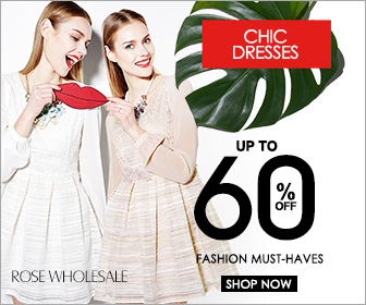 Chic Dresses: Up to 60% OFF with 9200+ Styles