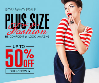 Plus Size Fashion: Up to 50% OFF