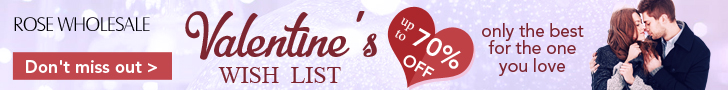 Big Saving for Valentine's Day, Don't Miss it and Shop Now!