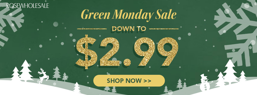 Down To $2.99 Green Monday Sale