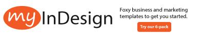 MyInDesign Banner Ad