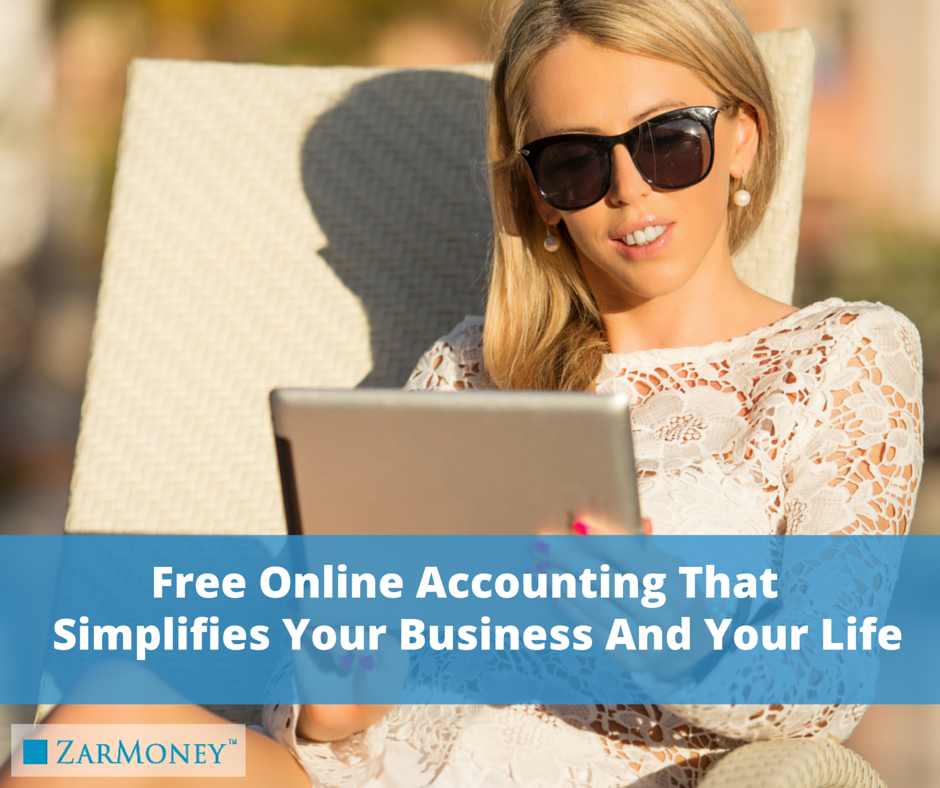 FREE Online Accounting Account on Zarmoney