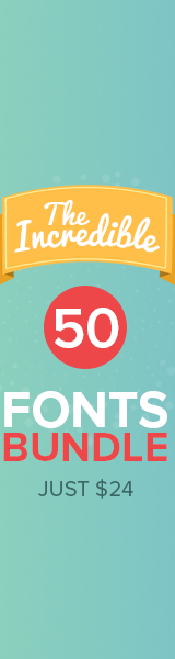 50 Fonts for $24!