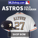 Shop the Houston Astros Gold Program at MLBShop.com