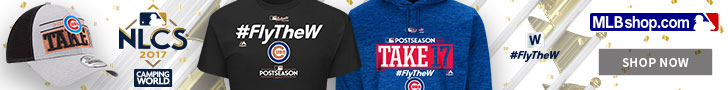 Chicago Cubs 2017 NL Central Champs Gear