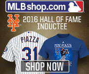 Celebrate the Hall of Fame Induction of Mike Piazza with Apparel, Collectibles and Memorabilia from MLBShop.com