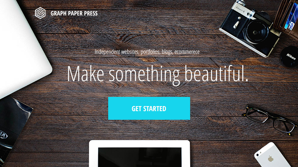 WordPress themes by Graph Paper Press
