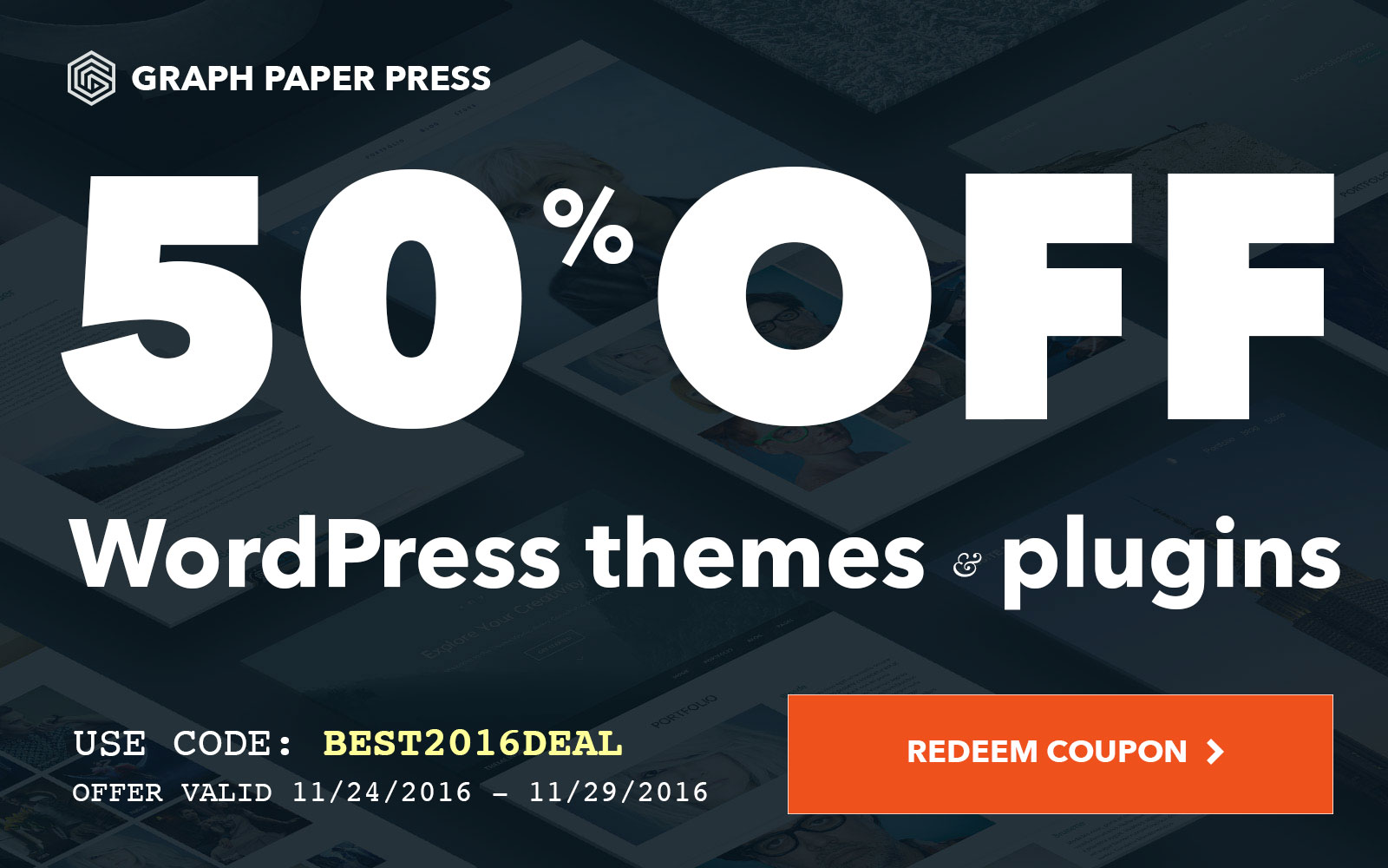 Graph Paper Press Black Friday Cyber Monday Deal