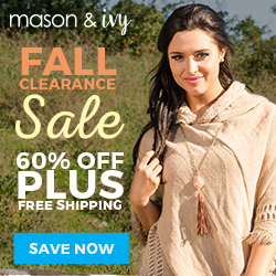 Mason & Ivy 60% Off Fall Clearance