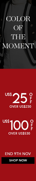US$25 off over US$230, US$100 off over US$530, Color of the moment