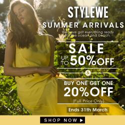 SALE! Designers' dresses at StyleWe