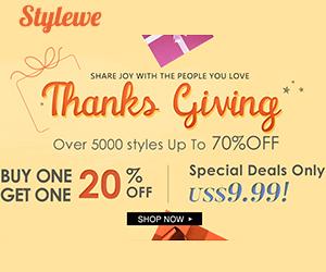 Stylewe Thanksgiving 300*250