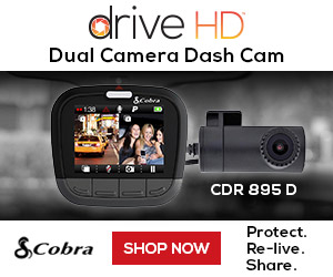 ALL NEW! Dual Channel Dash Cam for Double the Protection. The new CDR 895 D Dual Channel dash cam includes a 1080P front camera and a 720P rear camera.