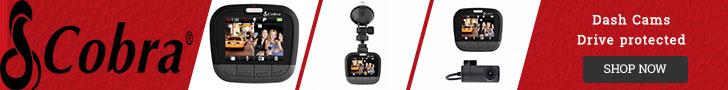 Drive Protected- Cobra Dash Cameras