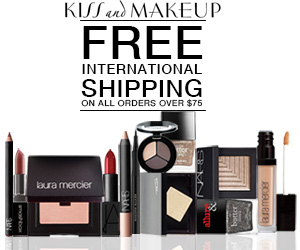 FREE International Shipping on all Orders Over $75