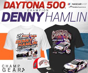 Denny Hamlin 2019 Daytona 500 Champion Fan Gear and Collectibles